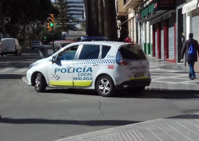 Policia local Málaga